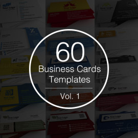 60 business cards templates preview