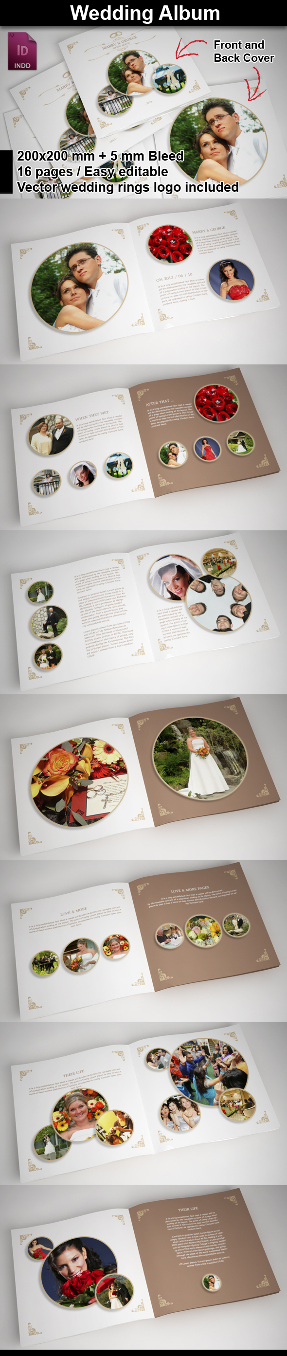 Smarty Bundles » 5 InDesign Brochure Templates