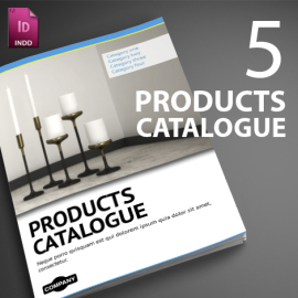 5 indesign catalogues preview
