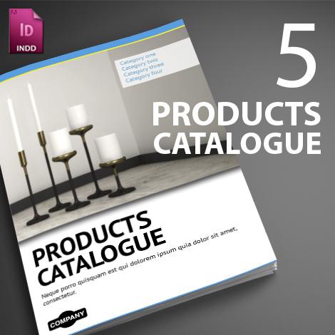 5 InDesign Products Catalogues + Free Bonus   Smarty Bundles