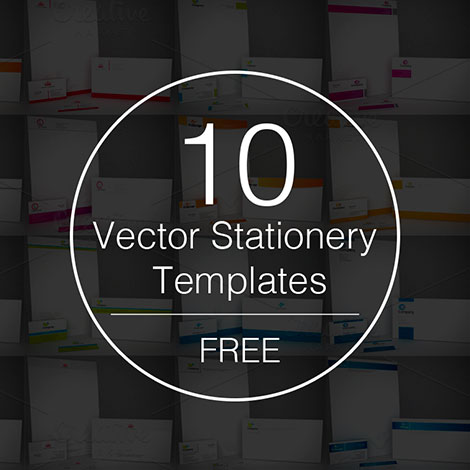 Free-vector-stationery-templates